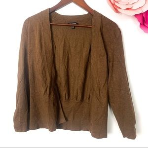 Le Chateau cardigan size Large brown